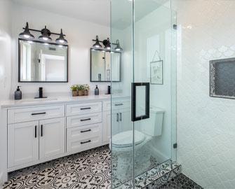 Custom Bathroom Remodel - Bills Contracting